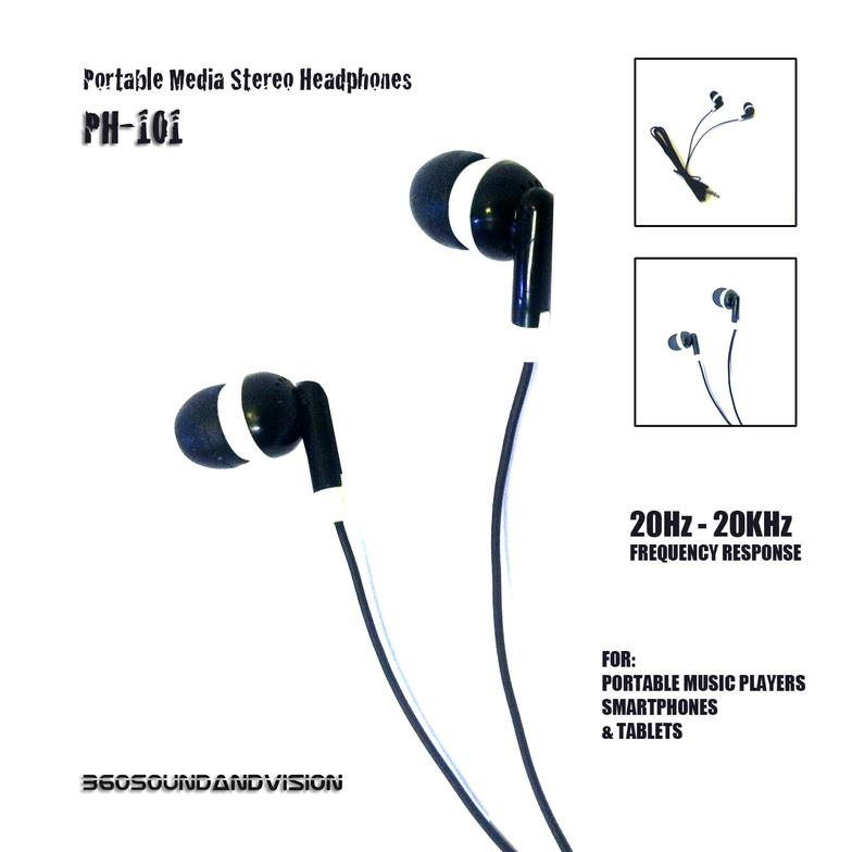 360 Sound and Vision PH 101 headphones