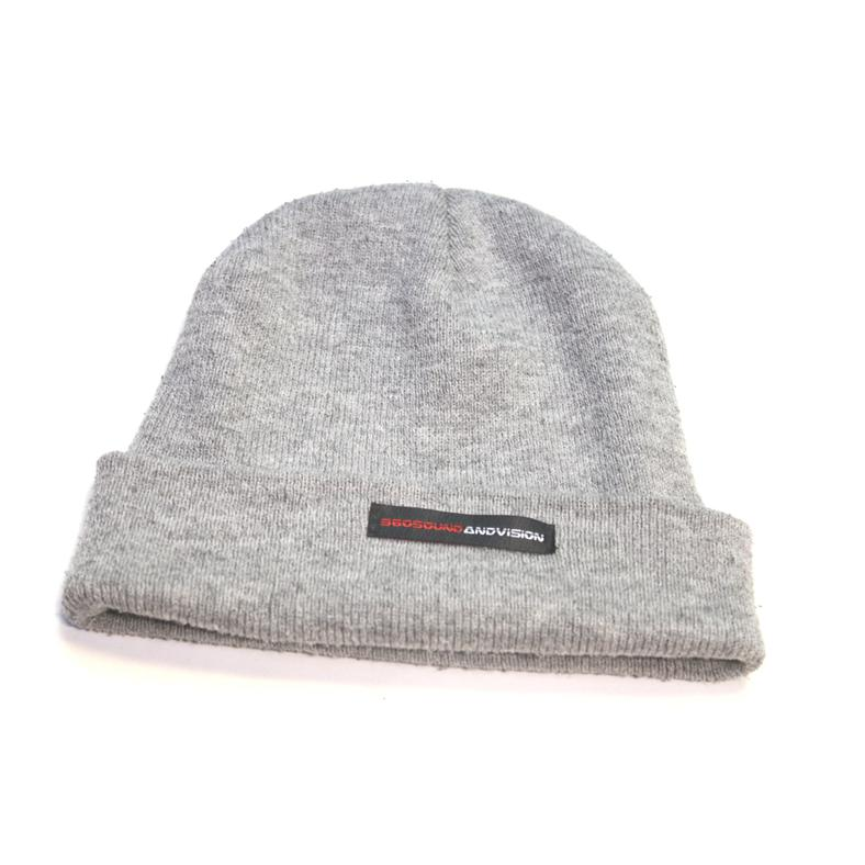 360 sound and vision knit beanie hat