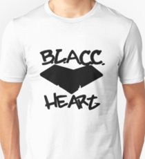 BLACC HEART Unisex T Shirt by 360 sound and vision