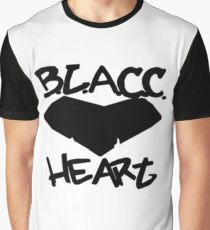BLACC HEART Graphic T by 360 sound and vision