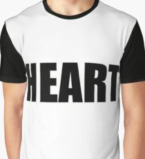 Heart Graphic T Shirt by 360 Sound and Vision