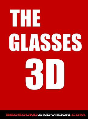 the glasses 3d by 360 sound and vision